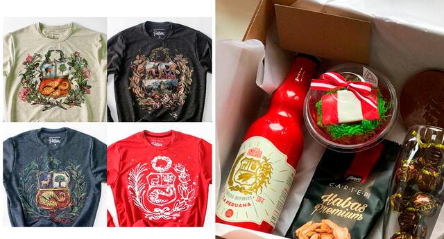 Emprende en el Bicentenario. Puedes incursionar en la venta de polos personalizados o de canastas con motivos de nuestro aniversario patrio.