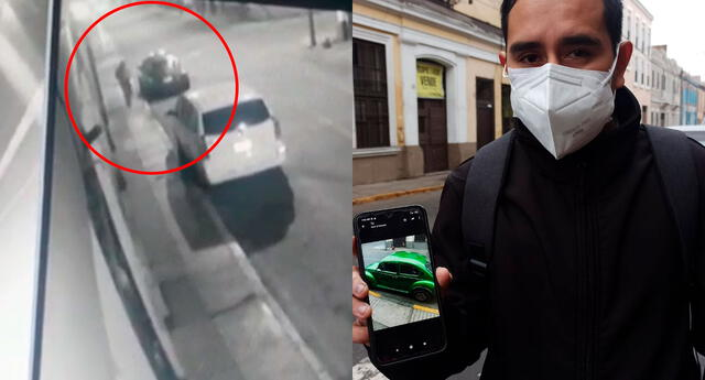 Las cámaras de seguridad del municipio en la avenida Tacna serán claves para conocer a dónde fue llevado el auto.
