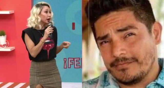 Belén Estévez salió en defensa de la producción del programa de Gisela Valcárcel, y criticó tanto a Erick Elera, como a Allison Pastor.