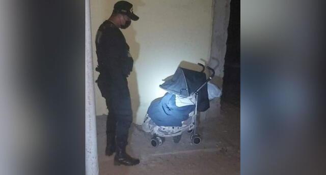 abandonan a bebé con síndrome de Down en Chimbote