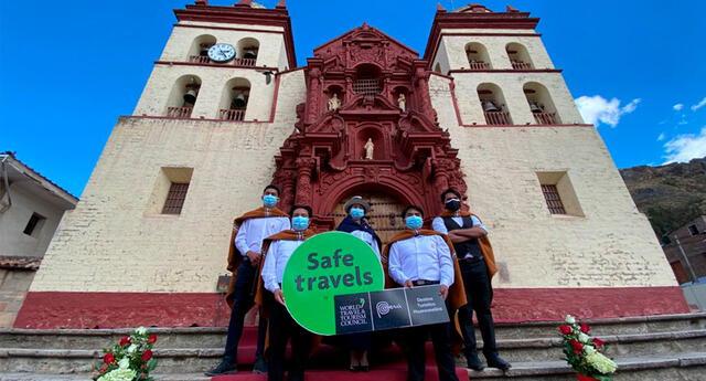 La Ceremonia Oficial se realizó en la Plaza Principal de la Ciudad conocida como Villa Rica de Oropesa.