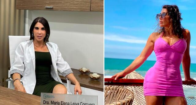 """""""Estoy bastante apenada y lamento mucho lo sucedido"""", dijo María Elena Leiva."""