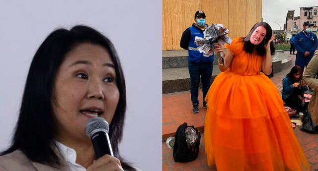 Keiko Fujimori tilda de ilegítima la proclamación de Pedro Castillo