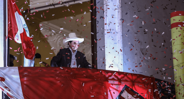 Pedro Castillo, presidente del Perú 2021-2016