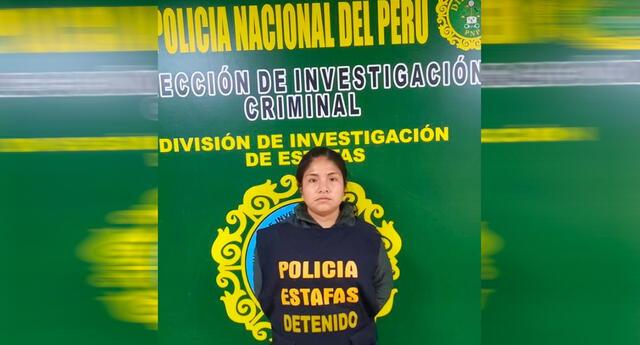 Mujer detenida con 32 mil dólares que serían de una estafa.