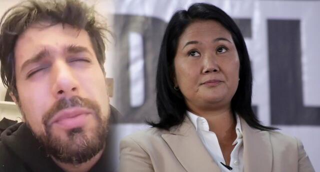 Sebastián Rubio le dedica canción a Keiko Fujimori.