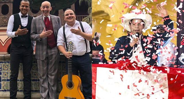 Los Juanelos dejaron en claro que no votaron por Pedro Castillo, pero igual le desearon lo mejor en su Gobierno y le pidieron