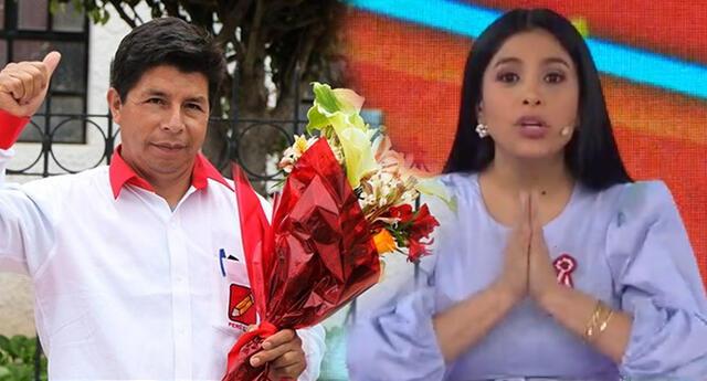 Maricarmen Marín le hace maternal pedido a Pedro Castillo.