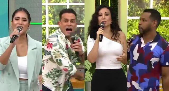 Janet Barboza aseguró que Melissa Paredes, Christian Domínguez y Giselo no le trajeron buena suerte, y ellos se mostraron indignados.