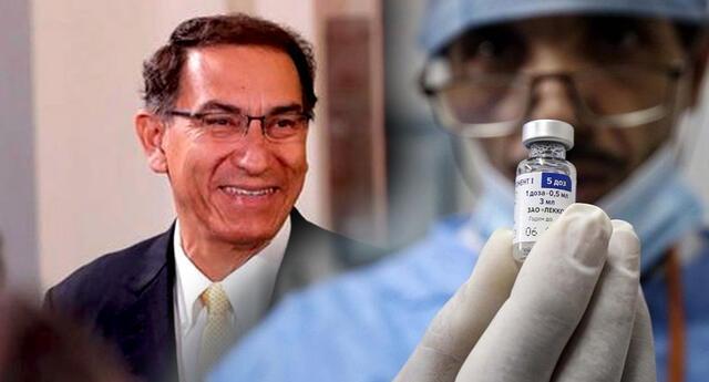 Martin Vizcarra es viral en Twitter por la llegada de la vacuna Sputnick.