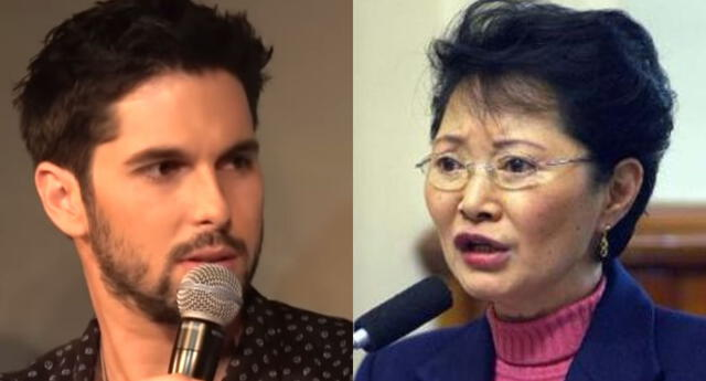 El actor Jason Day fue duramente criticado por mencionar las agresiones que Susana Higuchi en su momento denunció por parte de Alberto Fujimori.