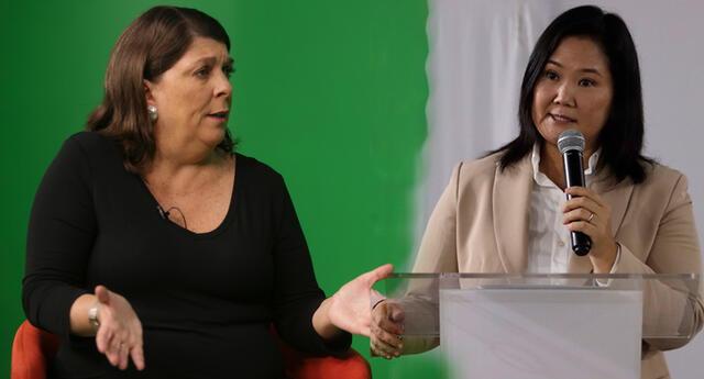 Rosa María Palacios se pronunció tras conferencia de Keiko Fujjimori.