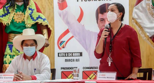 Verónika Mendoza asegura que no será parte del PCM en el nuevo gobierno de Pedro Castillo.