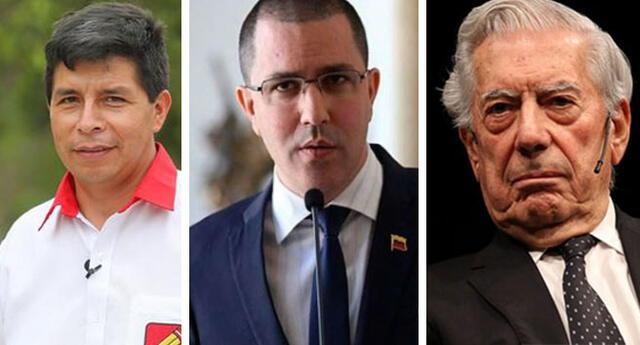 Canciller de Venezuela se pronunció  tras proclamación de Pedro Castillo.