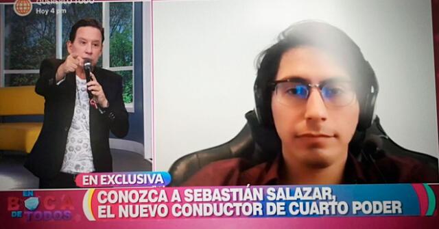 Sebastián Salazar fue presentado con bombos y platillos.