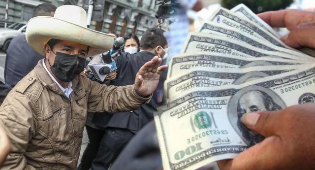 Revisa el precio del dólar tras la victoria de Pedro Castillo