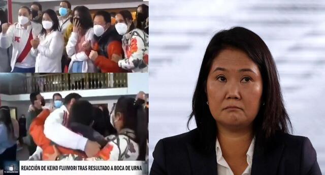 Celebración de Keiko Fujimori antes de tiempo se hizo viral en las redes sociales.
