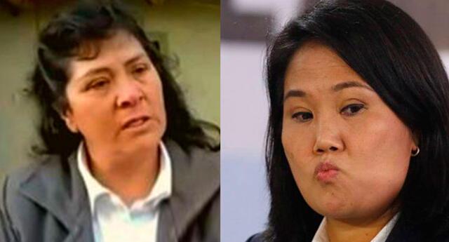 Lilia Paredes envía mensaje a Keiko Fujimori