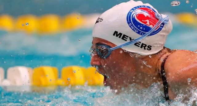 Becca Meyers, multimedallista paralímpica.
