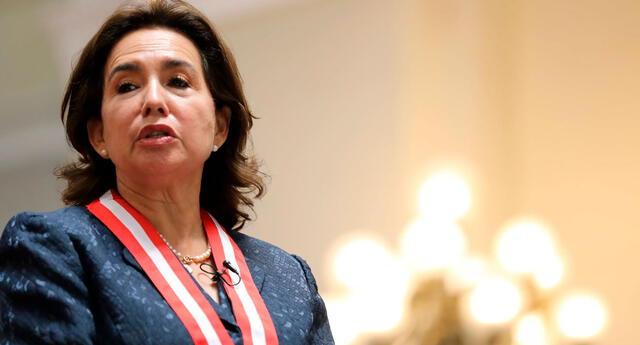 La presidenta del Poder Judicial respondió la investigación en su contra por el presunto tráfico de influencias.