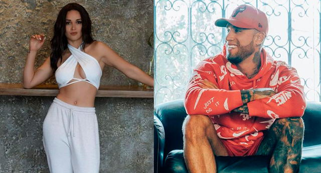 Angie Arizaga confesó que desde muy temprano estuvo preparando la sorpresa para su pareja.