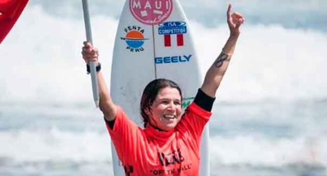 Sofía Mulanovich es una de las potencias del surf peruano que competirá en Tokio 2020.