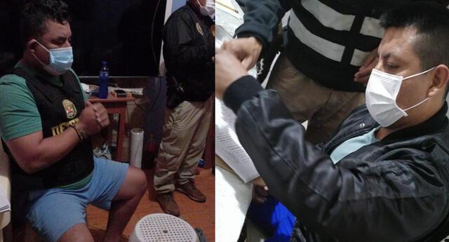 El Ministerio Público y la policía de Cajamarca desarticuló la organización criminal