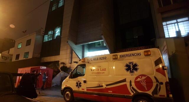 Pedro Castillo ingresa de emergencia a la clínica La Luz