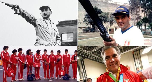 Edwin Vásquez, Francisco Boza, selección de voleibol y Juan Giha ganaron medallas
