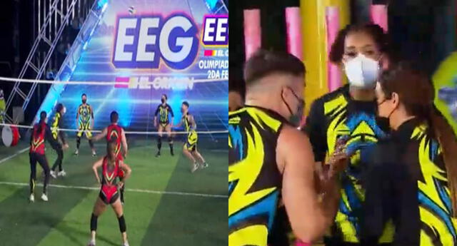 Esto es guerra 'Las Olimpiadas': Leyla Chihuán suelta lisura en vivo durante partido de voleibol.