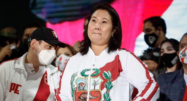 Keiko Fujimori, excandidata presidencial, reconoció los resultados de las elecciones 2021.