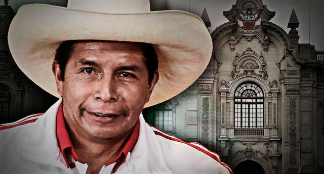 Pedro Castillo se alista para el cambio de mando.