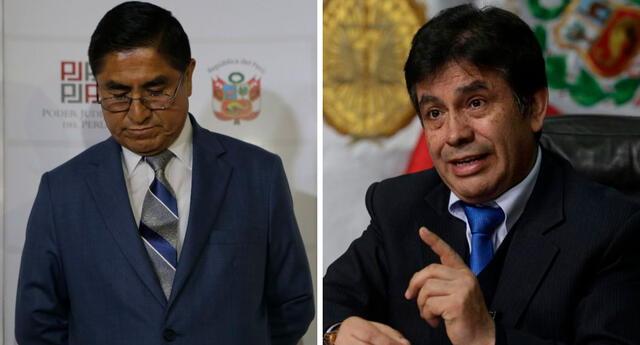 César Hinostroza y Tomás Gálvez son investigados presunta comisión de los delitos de organización criminal.