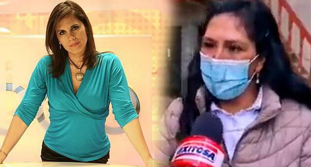 Claudia Cisneros se burla de periodista que consultó el atuendo de Lilia Paredes.