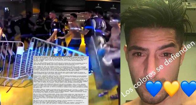 Carlos Zambrano pasó toda la madrugada, y horas de la mañana de este miércoles, detenido.