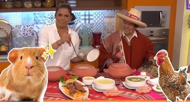 Presentan la comida típica de Pedro Castillo en Mujeres al Mando.