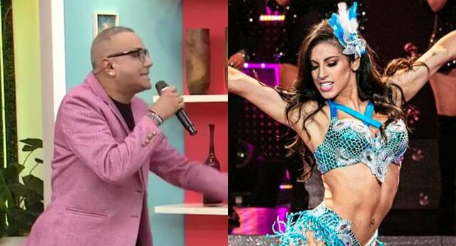 Carlos Cacho llegó al set de América Hoy, y se pronunció sobre las denuncias que hizo Allison Pastor contra la jefa de vestuario de Reinas del Show.