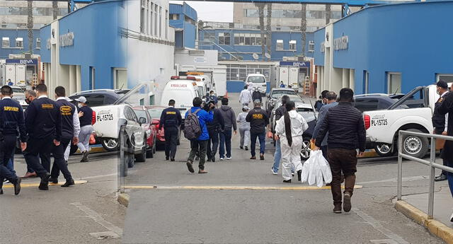 Allanan Hospital Almenara en La Victoria por investigación de cobro de cupos en camas UCI.