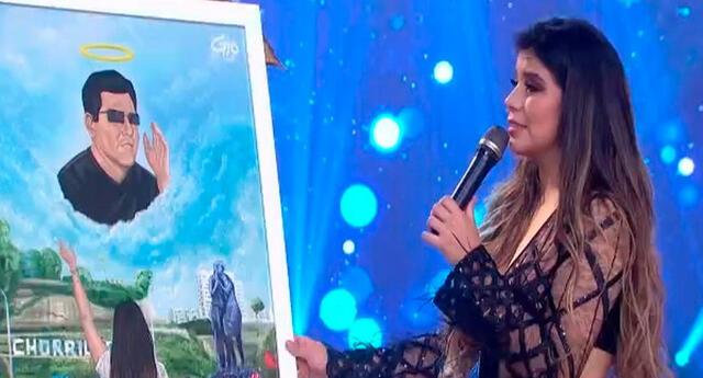 El programa En boca de todos le hizo un regalo especial a María Grazia Polanco para recordar a su padre.
