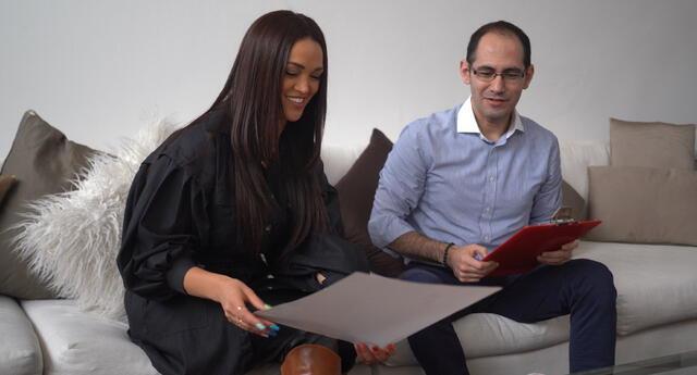 Angie Arizaga es parte de la organización de Miss Sidamérica.