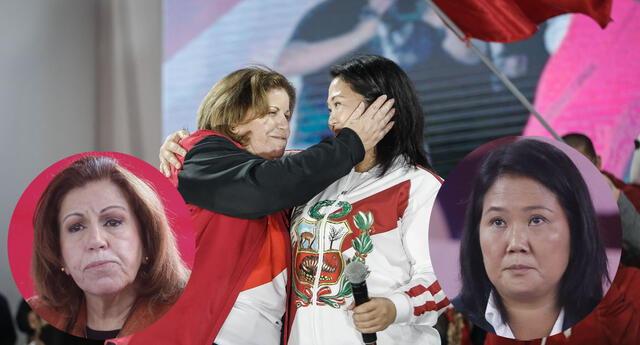 Lourdes Flores y Keiko Fujimori fueron noticia en las redes sociales.