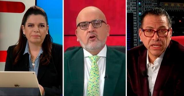 Usuarios de Twitter arremetieron contra los periodistas de Willax Tv.