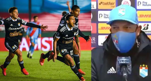 Roberto Mosquera se pronunció sobre el triunfo en Argentina esta noche.