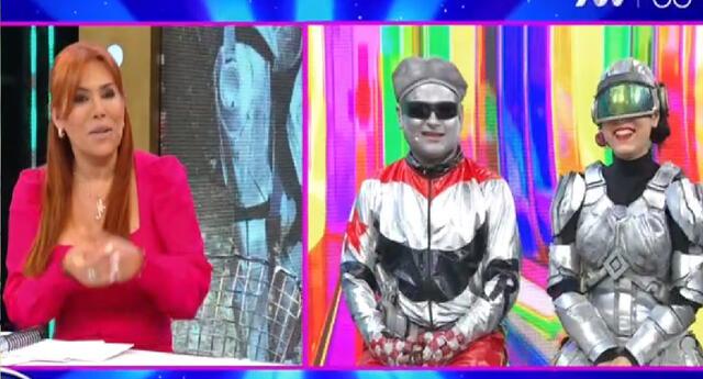 Magaly Medina celebró el nuevo amor de Robotín.