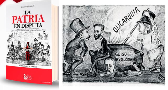 Para demostrar el impacto de la caricatura política y el poder mediático que ya tenía la prensa por finales del Siglo XIX en el Perú, la UCSS publica el libro La Patria en Disputa.