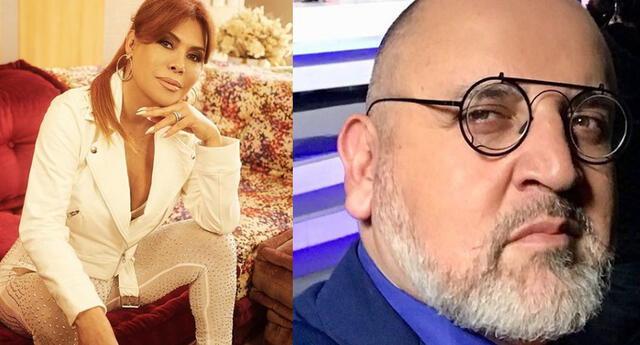 Magaly Medina le da su apoyo a Beto Ortiz.