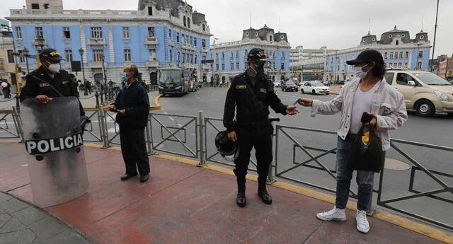 El Ejecutivo modificó el horario del toque de queda en Lima y Callao