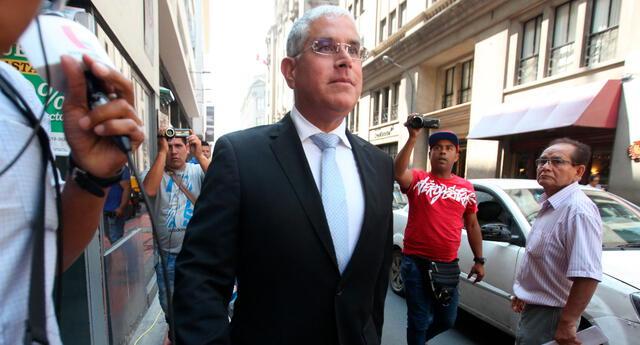 Óscar López Meneses, exoperador de Vladimiro Montesinos.