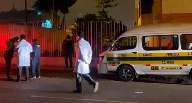 Rospigliosi Gálvez murió en el acto, mientras los presuntos asesinos a sueldo huyeron raudamente en el auto.