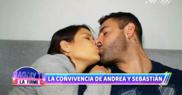 Sebastián Lizarzaburu y Andrea San Martín hablan de matrimonio.
